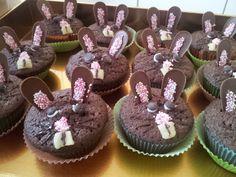 Oster-Muffins Häschen