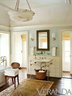 Bathroom Art Ideas You're Gonna Love - laurel home   lovely bathroom by Gil Schaefer