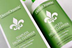 DermOrganic Soapless Facial Cleanser