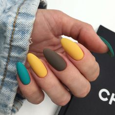 35 summer can also be recommended with Frosted nail style nails;summ… 35 summer can also be recommended with Frosted nail style nails; Aycrlic Nails, Nail Manicure, Hair And Nails, Teal Nails, Glitter Nails, Stylish Nails, Trendy Nails, Cute Acrylic Nails, Cute Nails