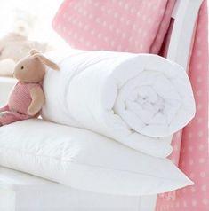 Baby Toddler 9 Tog Anti Allergy Cot Bed Duvet and Pillow Set Nursery Junior Bed Toddler Bed Duvet, Cot Bed Duvet, Toddler Cot, Duvet Bedding, Bed Pillows, Baby Duvet, Cream Bedding, Plaid Bedding, Crib Bedding Sets