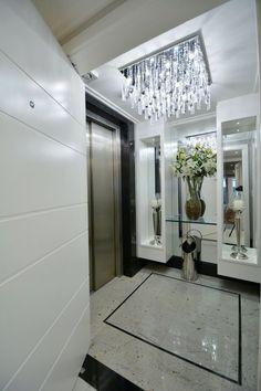 Hall do elevador - veja modelos lindos e dicas de como decorar! - DecorSalteado