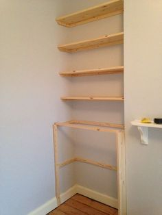 Outstanding Diy Alcove Shelving Wonderful Wall Built Ins Shelf Style Alcove Cupboards, Living Room Cabinets, Room Shelves, Living Room Shelves, Living Room Cupboards, Diy Cupboards, Living Room Diy, Alcove Ideas Living Room, Shelving