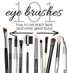 Eye Makeup Brushes 101: Why So Many?