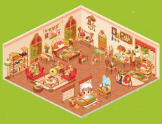#LinePlay #App #Game #Muriomu Casetta autunnale versione 1