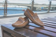 The Moreschi Bahamas is crafted from soft suede and perforated calfskin leather. Comfort and breathability for hot days at home or on holiday. Shoe Horn, Shoe Tree, Italian Shoes, Hot Days, Soft Suede, Types Of Shoes, New Shoes, Suede Leather, Moccasins