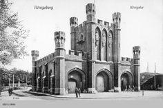 Königsberg, Königstor City Scene, Fortification, Prussia, Old City, Beautiful Buildings, World War Ii, Notre Dame, Castle, Germany