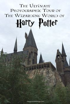 over 40 pictures of the Wizarding World of Harry Potter