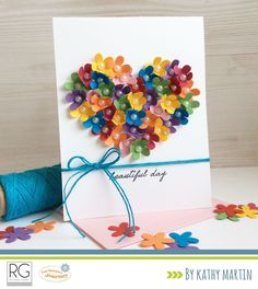 Card-Blanc by Kathy Martin: Beautiful Day