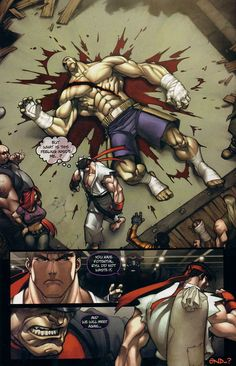 Street Fighter (2003)     Issue #1     - Read     Street Fighter (2003)     Issue #1     comic online in high quality
