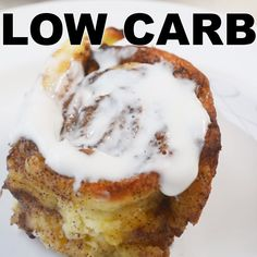 Cinnamon Rolls (Nut Free) These taste just like a traditional cinnamon roll and they're gluten free, nut free, low carb and sugar free!These taste just like a traditional cinnamon roll and they're gluten free, nut free, low carb and sugar free! Low Carb Sweets, Low Carb Desserts, Low Carb Recipes, Dessert Recipes, Easy Keto Dessert, Keto Desert Recipes, Vegan Recipes, Diet Desserts, Sugar Free Desserts