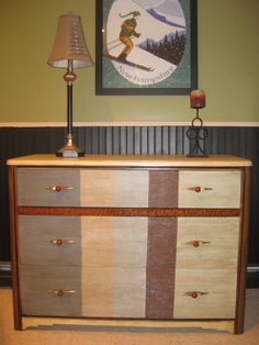 Vintage Painted Dresser by MISFITSFURNISHINGS on Etsy