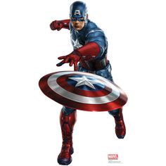 "SIZE:68"" x 37"" A World War II veteran who was enhanced to the peak of human physicality by an experimental serum, Captain America returns to the screen this summer in the Avengers!"