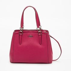 Now on eboutic. New York Style, Brand Ambassador, Coach Handbags, Wallet, Leather, Accessories, Fashion, Hot Pink, Pockets