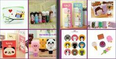 Lot kawaii box - set papeterie & cosmétique -
