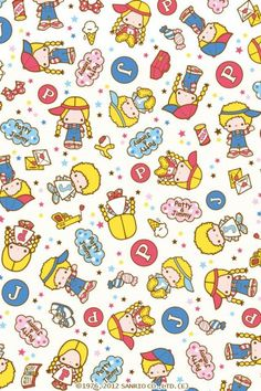 cute, kawaii, and wallpaper image Sanrio Wallpaper, Iphone 6 Wallpaper, Hello Kitty Wallpaper, Kawaii Wallpaper, Cartoon Wallpaper, Hello Kitty My Melody, Pochacco, Cartoon Background, Japanese Cartoon