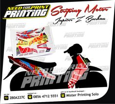 Mau Cetak Segala Macam Sticker ( Sticker Mobil, Striping Motor, Sticker Transparant, Sticker Cutting, Sticker Anti Air, Sticker Kaca, Sticker Kertas, Sticker Label, Sticker Segel, Sticker Helm, dll ) yang berkualitas, hanya di Mister Printing Solo Saja !!! Hp. 0856 4712 5551 / Bb. 2B0A227C.