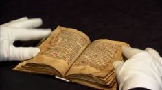 7/10/12-A rare Welsh manuscript, The Laws of Hywel Dba, setting out a set of laws from the 10th Century king was bought by the National Library of Wales for $840,000 at Sotheby's in London. Only 80 medieval Welsh manuscripts are known to exist. 90 years ago the last manuscript written in ancient Welsh came up for private sale. The Hywel book, written on vellum in the 1300's, was sold by the Historical Society of Boston. The manuscript was brought to America by Welsh immigrants 150 years ago.