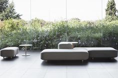 Common, a capsule-collection of furniture for the lounge designed by Naoto Fukasawa for Viccarbe