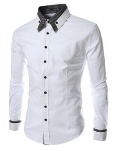 TheLees Mens long double collar cuff slim dress shirts White Large(US Medium) TheLees http://smile.amazon.com/dp/B00CCXZQAM/ref=cm_sw_r_pi_dp_kge0tb0NV0EJM7AE