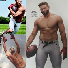 Whoa, Jules!  #JulianEdelman #PatriotsNation (Men's Health, 2015)