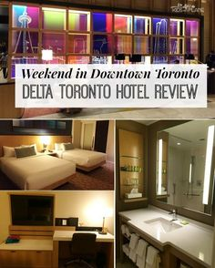 Our Weekend in Downtown Toronto at the Delta Toronto! Here's a recap of what to do and where to eat around this centrally located luxury hotel! | #KidsOnAPlane #CanadaTravelTips #TravelTips #TorontoTravel #TorontoTravelTips #HotelReview #DeltaToronto #LuxuryHotel