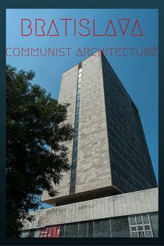 bratislava communist architecture pin