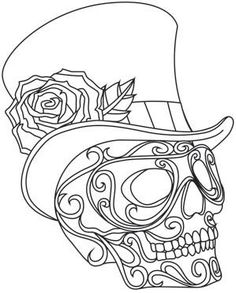 Harlequin Masquerade - Skull_image