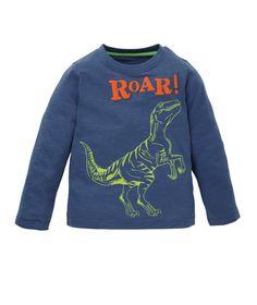 Mothercare Camiseta Dinosaurio Azul - Promocion camisetas 2 x 1 - Mothercare