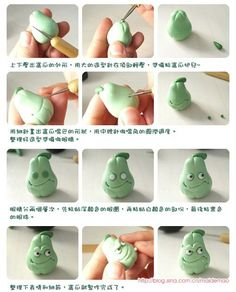 Fimo making tutorial of plants zombie war - Squash _ it _ animation and game design making tutorial _ Fimo polymer clay doll making tutorial _ Fimo clay