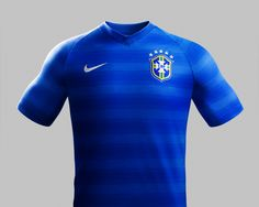 Brazil Away Kit for World Cup 2014 #worldcup #brazil2014 #brazil #soccer #football #BRA