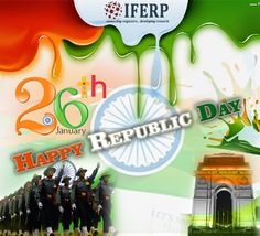 IFERP wishes 68th Happy Republic Day to all #republicday #68_republicday #india #swachhbharat #saarejahanseaccha
