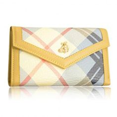 $11.49 Korean Style Women's Wallet With Color Matching and PU Leather Design