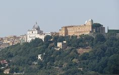 (The papal residence in Castel Gandolfo) Breaking with the practice of his predecessors, Pope Francis will not take a long summer vacation and will stay in Rome, just making short trips to Castel Gandolfo.... Though he will make at least a one-day visit to Castel Gandolfo, the pontifical residence 15 miles outside of Rome, Pope Francis will continue living at Saint Martha's House during the summer.