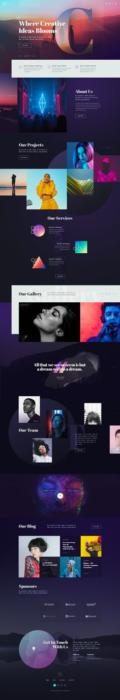 CREATO - Creative Portfolio Theme on Behance