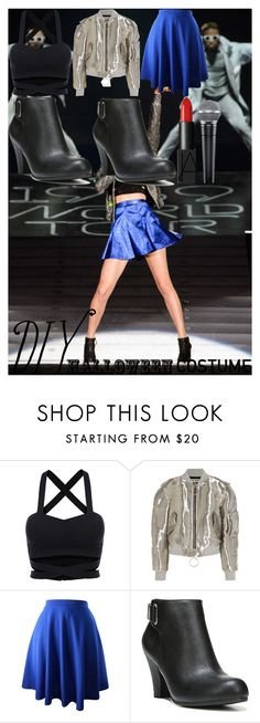 """""""Taylor Swift 1989 World Tour diy Halloween costume."""" by oroartye-1 on Polyvore featuring Off-White, Fergalicious and NARS Cosmetics"""
