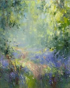 Rex Preston: Spring Woodland | gallerytop