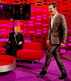 Benedict Cumberbatch  graham norton show 2014