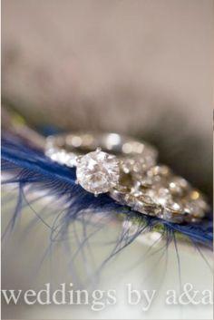 Wedding Shoe Clips Royal Blue & Peacock Fan. Bride by sofisticata, http://sofisticata.etsy.com