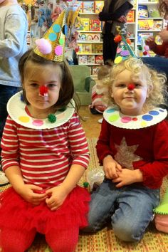 Circus by Lois Ehlert and clown costume craft Circus Activities, Preschool Themes, Preschool Crafts, Preschool Circus Theme, Circus Theme Crafts, Childcare Activities, Clown Crafts, Carnival Crafts, Daycare Crafts