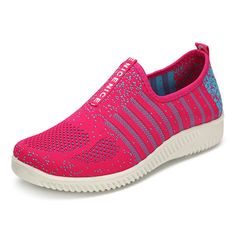 Breathable Soft Slip On Running Sport Shoes