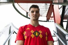 4e6a15e27 The Belgium 2018 World Cup kit us inspired by one of the country s most  iconic national