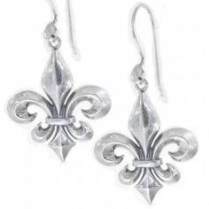 A Louisiana Fleur De Lis Earring