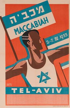 The Maccabiah Games - 1935   The Palestine Poster Project Archives