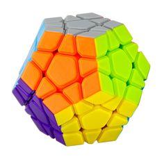 Yongjun MoYu Yuhu Megaminx Magic Cube Kecepatan Puzzle Cubes Mainan Anak-anak Pendidikan Mainan