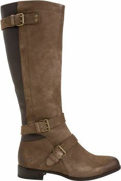 UGG Australia's suede clog boots | fashion | Pinterest | For women ...