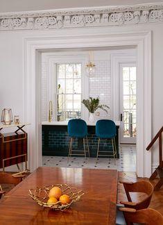 Table Design, Küchen Design, House Design, Design Ideas, Chair Design, Modern Design, Interior Design Kitchen, Interior Design Living Room, Interior Livingroom