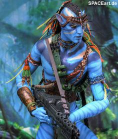 Avatar: Jake Sully - Deluxe Figur, Fertig-Modell ... http://spaceart.de/produkte/avt002.php