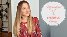 Επαγγελματικό ίσιωμα στο σπίτι σε 4' | Steampod Review & Giveaway