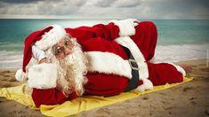 Święty, Mikołaj, Plaża, Morze
